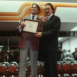 Studioeröffnung mit Arnold und Albert 8.2.1983