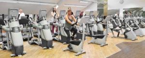 TSC Fitness Unterhaching Fitnessstudio Cardiotraining