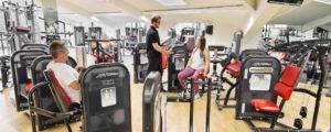TSC Fitness Unterhaching Fitnessstudio Zirkeltraining im Trainingszirkel